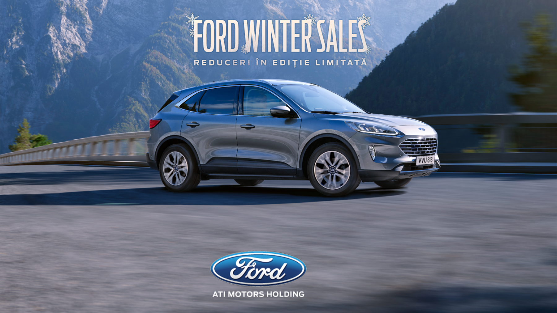 Ford Winter Sales - Reduceri în ediție limitată!